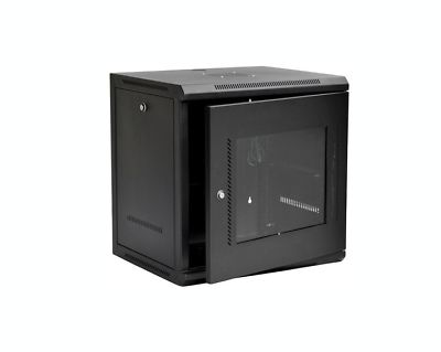 door lock and key black and white. Brilliant And 9U IT Wall Mount Network Server Cabinet Rack BuiltIn Fan Glass Door Lock U0026 In And Key Black White