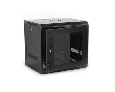 9U IT Wall Mount Network Server Cabinet Rack Built-In Fan Locking ...