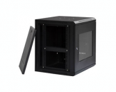 9U IT Wall Mount Network Server Data Cabinet Enclosure Rack Glass Door Locking