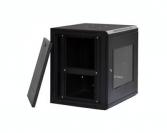 9U IT Wall Mount Network Server Data Cabinet Enclosure Rack Glass Door Locking