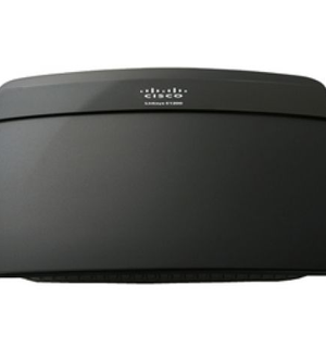 Linksys E1200 Wireless N BroadBand Router (Black)