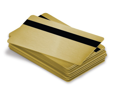 Metallic Magnetic Cards
