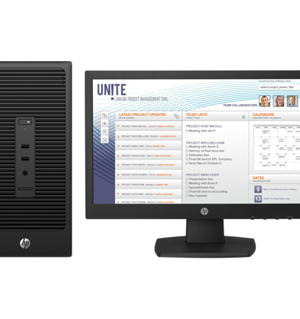 HP 280 G2 Microtower PC Bundle(X3K80EA)