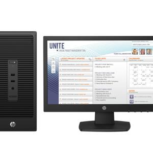 HP 280 G2 Microtower PC Bundle(X3K81EA)