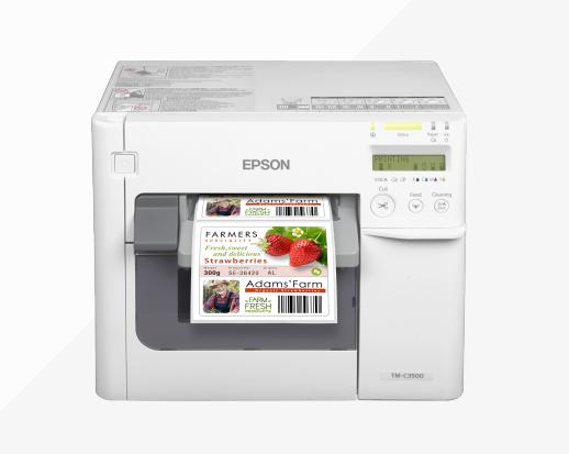 ColorWorks C3500 Colour label printer