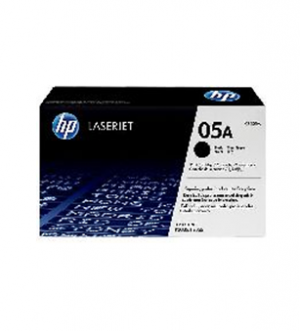 HP 05A Black Original LaserJet Toner Cartridge(CE505A)