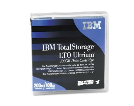 IBM LTO 1 Tape 100/200GB Data Cartridge(08L9120)
