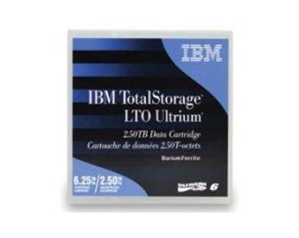 IBM LTO 6 Tape 2.5/6.25TB (00V7590 /35P190)