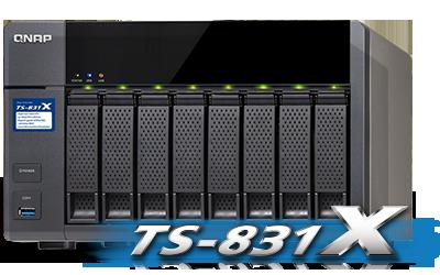 Qnap TS-831X NAS
