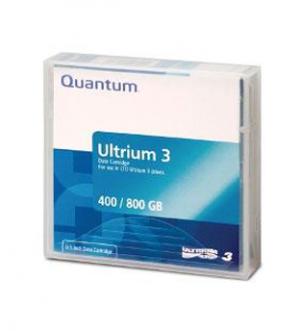 Quantum LTO 3 Tape, Ultrium 3 Tapes MR-L3MQN-01