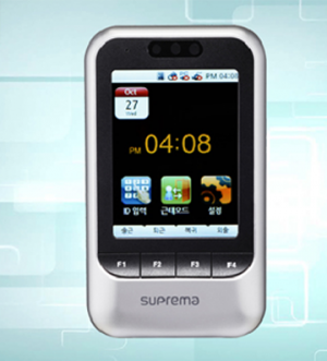 Suprema X-Station time and attendance system