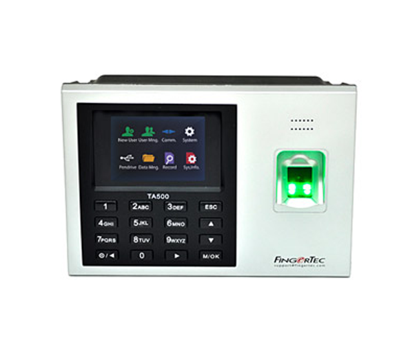 Fingertec Fingerprint TA500 Time Attendance Clocking machine